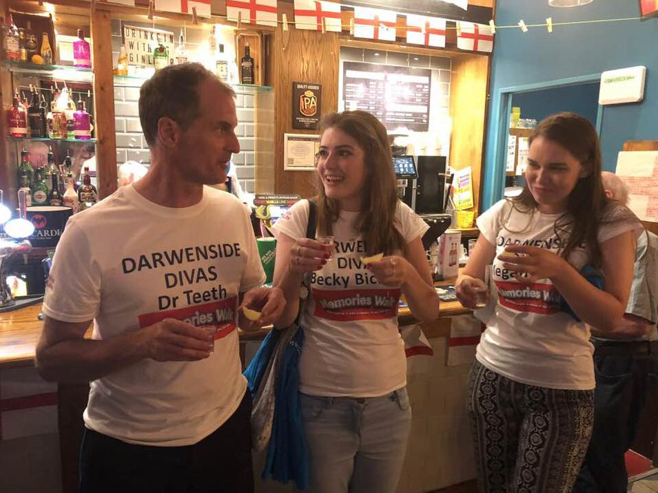Darwenside Dental Memories Walk July 2018