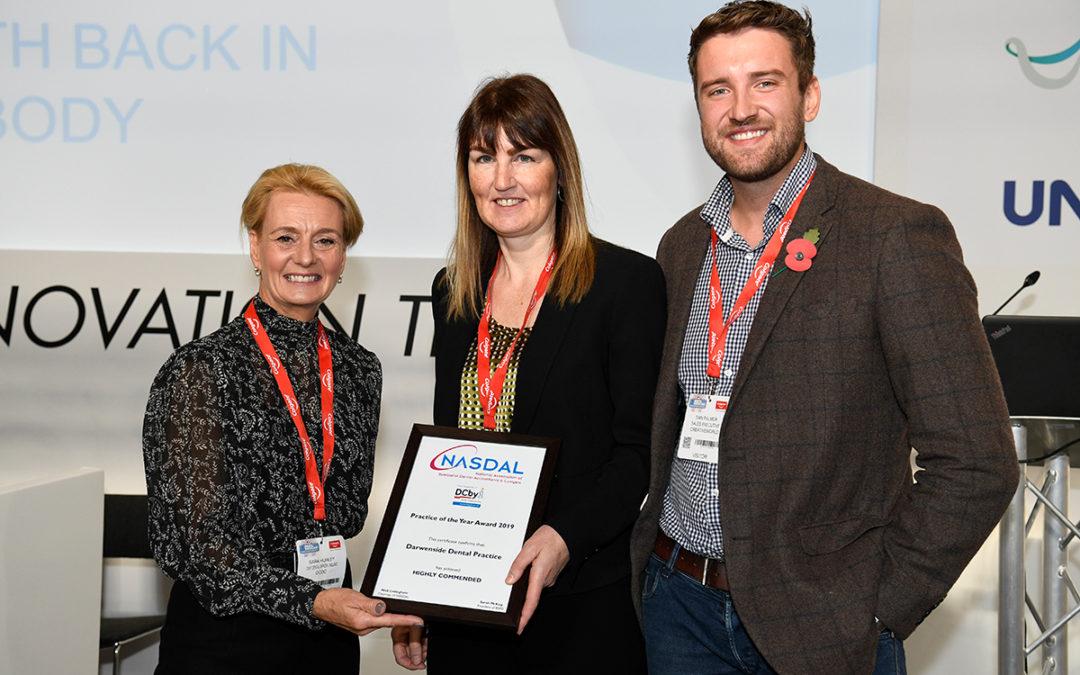 Darwenside Dental 'Highly Commended' at the BDIA Dental Showcase 2019